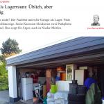 Garage als Lagerraum: Üblich, aber unzulässig