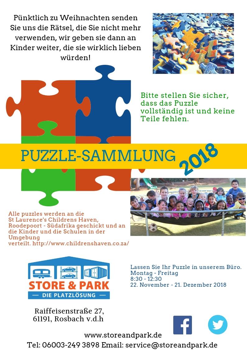 Puzzlesammlung, mach mit. Helfen Sie uns gemeinsam, für Kinder in Not zu sammeln. Wir sammeln die Puzzles, die Sie nicht mehr benötigen.