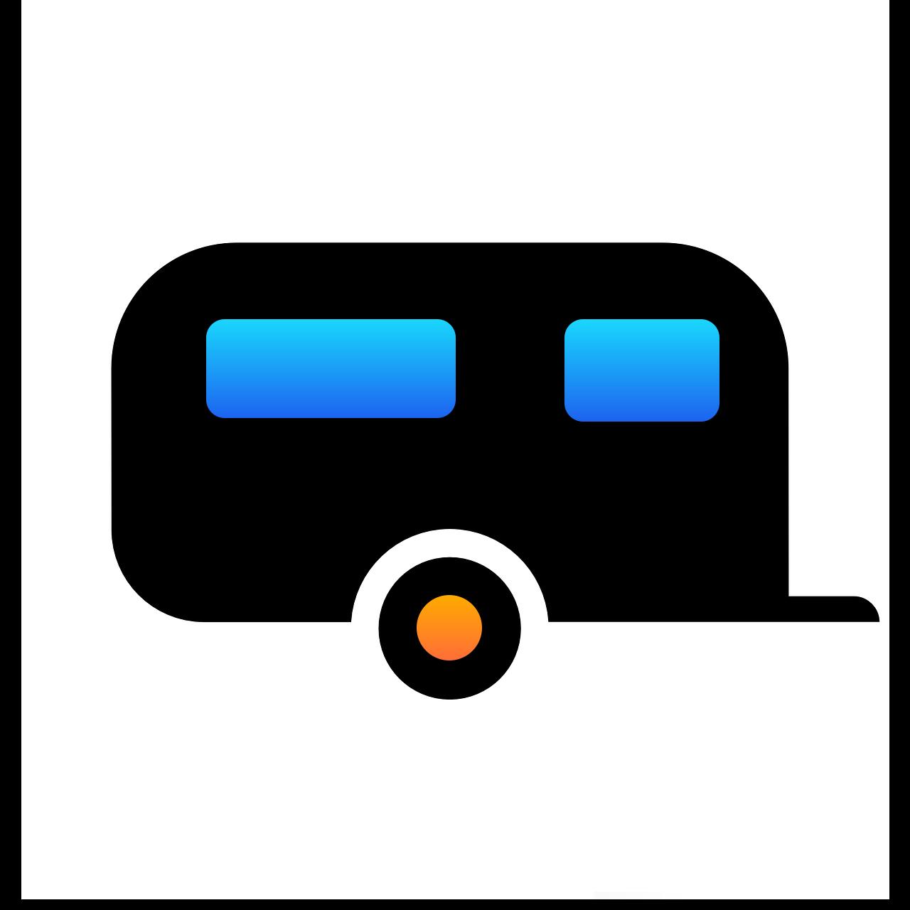 Wohnwagen-Stellplatz Image