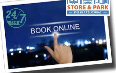 storeandpark online buchung
