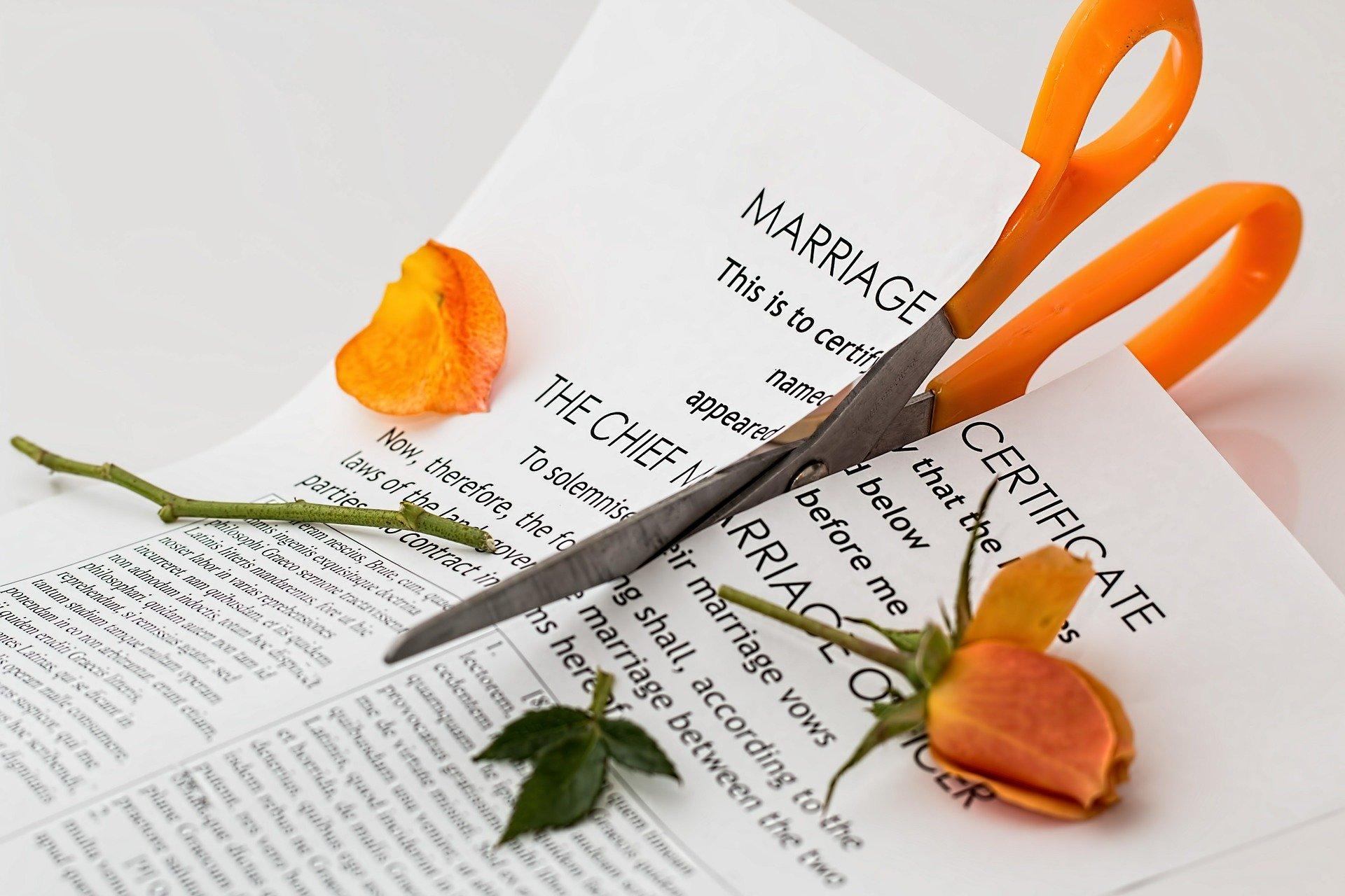 Scheidung lager