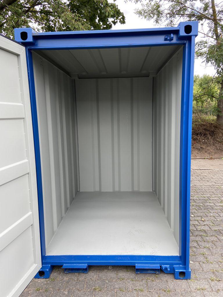 4qm container drinnen celle und maintal